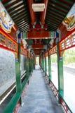 L'Asie Chine, Pékin, parc de Taoranting, le long ¼ Œ de Corridorï Photos libres de droits