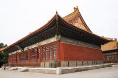L'Asie Chine, Pékin, parc de Zhongshan, il histoire du bâtiment, hall de Zhongshan, lingxingmeng Images libres de droits