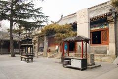 L'Asie Chine, Pékin, ¼ Œ d'architectureï de ŒLandscape de ¼ d'ï de White Cloud Temple Photographie stock libre de droits