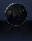 L'Asie dans l'obscurité illustration libre de droits