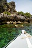 l'Asie dans la baie phangan d'îles de kho bascule le vert de sud de la Chine photographie stock
