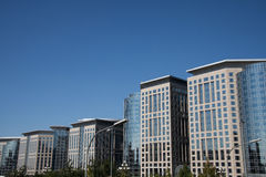 L'Asie et la Chine, Pékin, Dongdan, la plaza orientale, architecture moderne Image stock