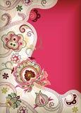 l'Asie florale illustration stock