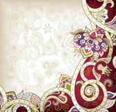 l'Asie florale illustration de vecteur