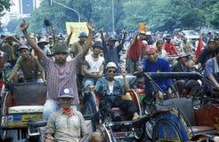 L'ASIE INDONÉSIE JAKARTA Photo libre de droits