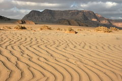 l'Asie Jordanie, rhum de Wadi de désert Photos stock