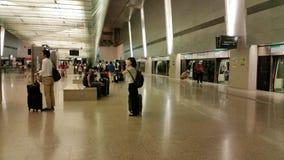 L'Asie Singapour - l'aéroport de Changi Photographie stock libre de droits