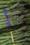 L'asparago è fresco Un fondo dalle verdure Fotografie Stock Libere da Diritti