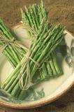 l'asparago ha legato Fotografia Stock Libera da Diritti