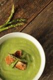 L'asparago soup Fotografie Stock
