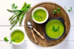 L'asperge soup images stock