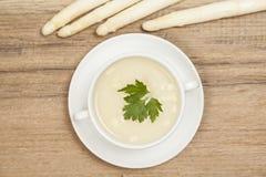 L'asperge soup image libre de droits