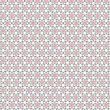 L'aspiration abstraite raye l'illustration rouge de vecteur de fond de modèle de grille d'étoiles illustration stock