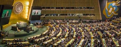 L'Assemblée générale des Nations Unies à New York Photographie stock