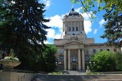 L'assemblea legislativa di Winnipeg Fotografie Stock Libere da Diritti