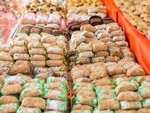 L'assortimento siciliano di Cannoli/Cannoli siciliani/è il più tradizionale di tutti i dolciumi siciliani Originalmente prepari fotografia stock libera da diritti