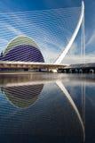L'Assut de l'Or bro, Valence, Spanien Arkivbilder