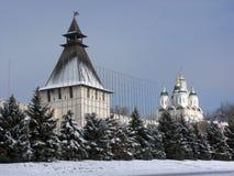 L'Astrakan kremlin Fotografia Stock