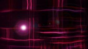 L'astrazione luminosa punteggiata con effetto di distorsione, 3d rende il contesto, generato da computer illustrazione vettoriale