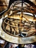 L'astrolabio sferico Immagini Stock