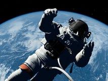 L'astronauta Fotografia Stock