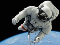 L'astronaute Images libres de droits