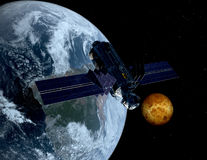 L'astronave Fotografie Stock