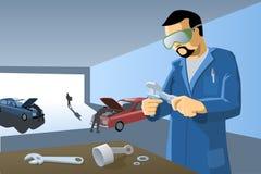 L'atelier du mécanicien Image stock