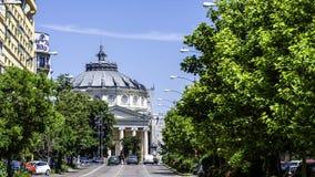 L'Athenaeum roumain photo libre de droits
