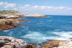 L'Atlantico calmo Fotografia Stock Libera da Diritti