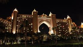 l'Atlantide à Dubaï Images libres de droits