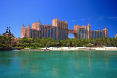 l'Atlantide en Bahamas Photo libre de droits