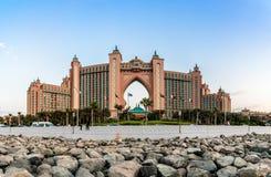 L'Atlantide, l'hôtel de paume à Dubaï, Emirats Arabes Unis Image libre de droits