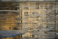 L'Atlantide sous la glace Images libres de droits