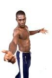 L'atleta Fotografia Stock Libera da Diritti