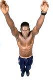 L'atleta Fotografie Stock Libere da Diritti