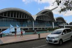 L'atmosfera dell'aeroporto immagini stock libere da diritti