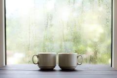 l'atmosphère confortable pour des pauses-café Images libres de droits