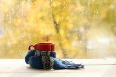 L'atmosphère de chauffage d'automne Photographie stock