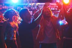 L'atmosphère de disco Images libres de droits