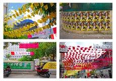 L'atmosphère de l'élection parlementaire maldivienne en 2014 Photographie stock