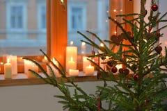 L'atmosphère de Noël Image stock