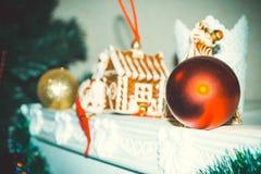 L'atmosphère de Noël Images libres de droits