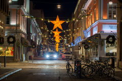 L'atmosphère de Noël en Suède Photo stock