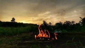 L'atmosphère de nuit Image libre de droits