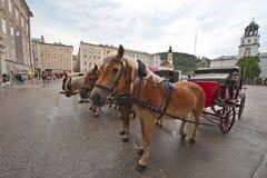 L'atmosphère de Salzbourg Photographie stock