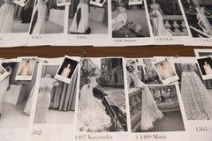 L'atmosphère générale à l'arrière plan avant exposition nuptiale de piste de collection de Julie Vino Havana 2018 Photo stock