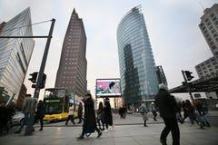 L'atmosphère s'occupe du Berlinale Photos stock