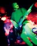 L'atmosphère de groupe de rock - image grenue Images stock