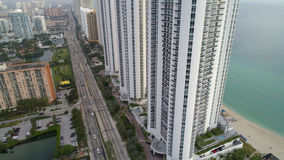 L'atout domine Sunny Isles Beach photo stock